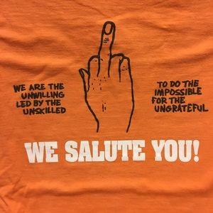 2011 SS Supreme We Salute You t shirt